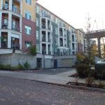 2000 Sellwood Condominiums, podium concrete, multi story concrete