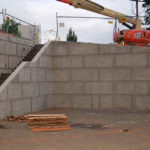 2006 summerlin center, commercial concrete, retaining wall
