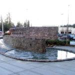 Bridgeport Village Fountain, architectural, complex formwork, concrete