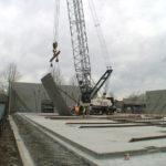 Burnside Commons, tilt, concrete