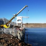 Installation of temporary bulkhead