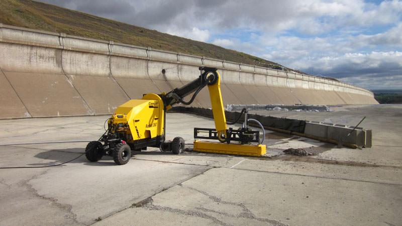 Fort peck Spillway Repair