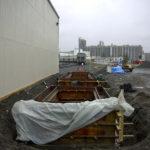 Kinder Morgan Rail Scale Pit, industrial concrete, train scale foundation