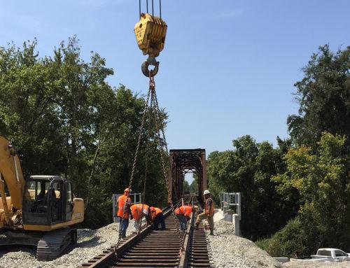Bridge Replacement Little Rock Sub MP 410.18