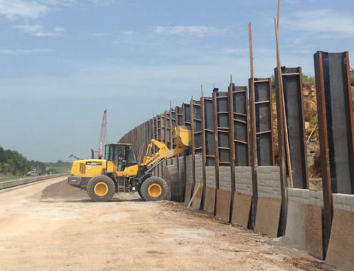 Pawnee Retaining Wall