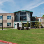 Reynolds Learning Center, schools, commercial concrete
