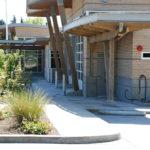 Sylvan Hill Fire Station 16, architectural concrete, sandblast finish,