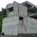 Sylvania Portland Community College, architectural concrete