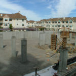 assisted living, post tensioned, concrete, podium deck