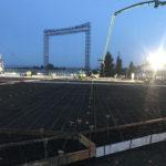 Bonneville power administration 36,000 square foot exterior concrete paving