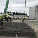 Bonneville power adminstration, bpa, 36000 square foot exterior concrete paving