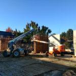 Commercial concrete foundations, flatwork