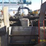 Storm utilities, shoring, underground, marine terminal five